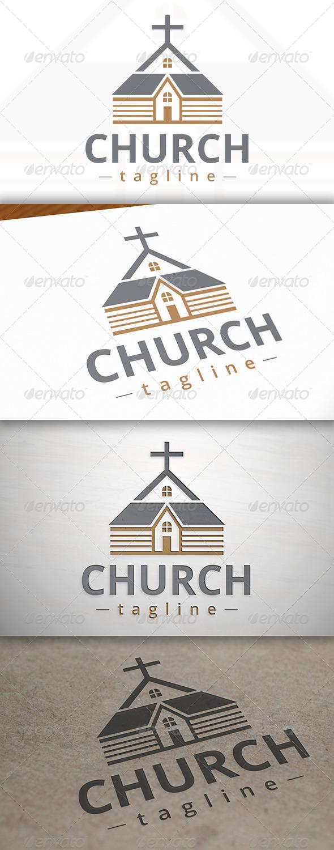 GraphicRiver Classic Church Logo 7162367