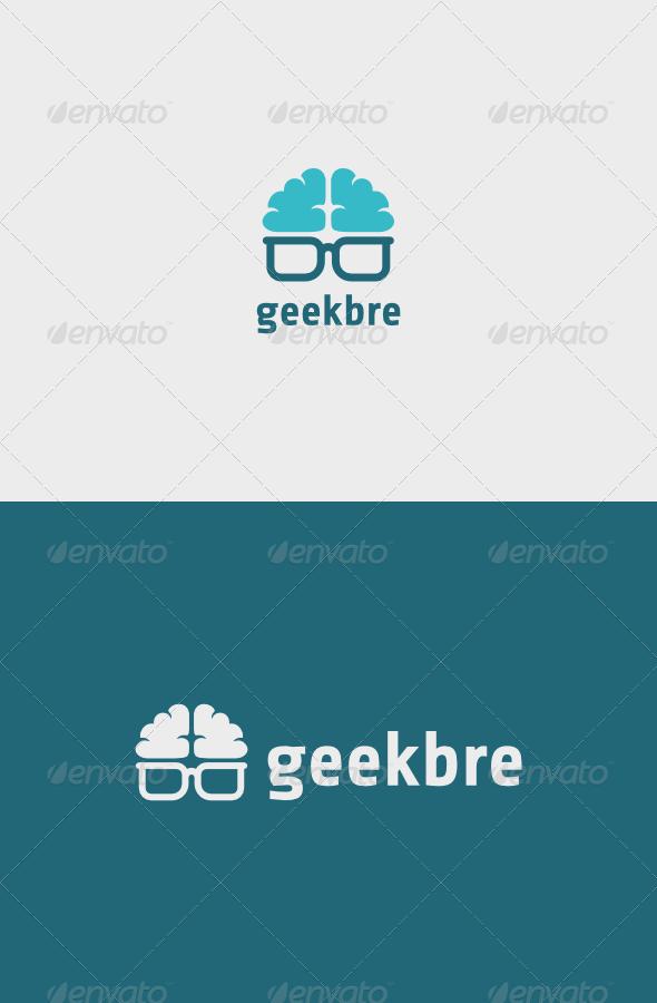 GraphicRiver Geek Brain Logo 7162371