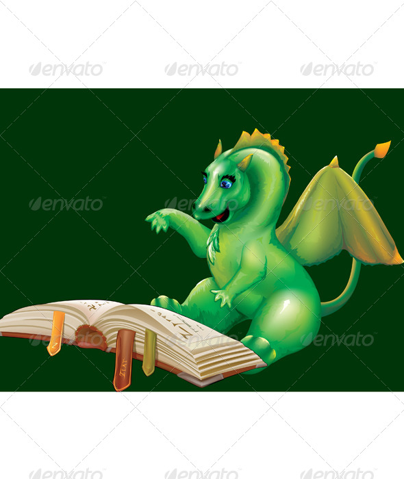 GraphicRiver Baby Dragon 7162492