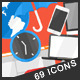 69 Animated Icons - VideoHive Item for Sale