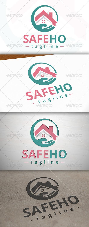 GraphicRiver Safe House Logo 7162503