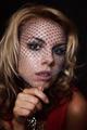 blonde woman in veil - PhotoDune Item for Sale