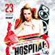 Hospital Party Flyer - GraphicRiver Item for Sale