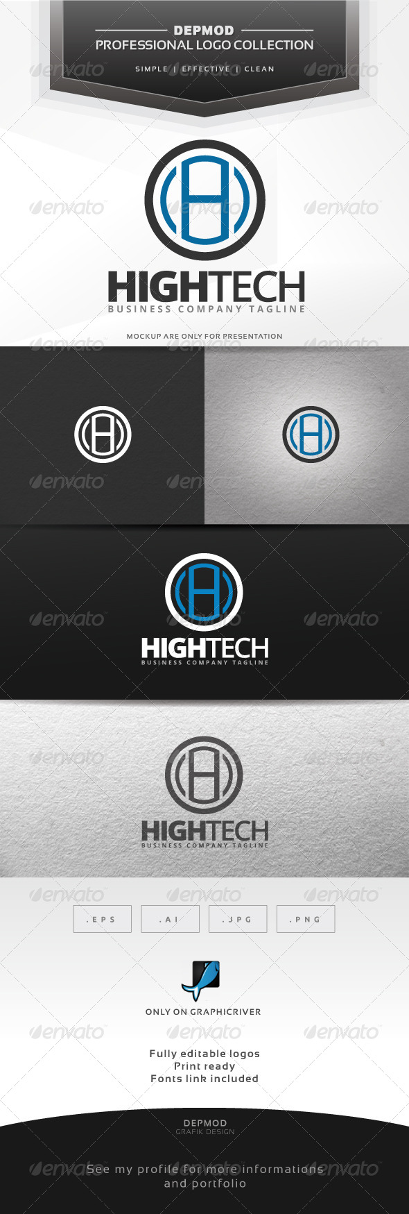 GraphicRiver High Tech Logo 7162866