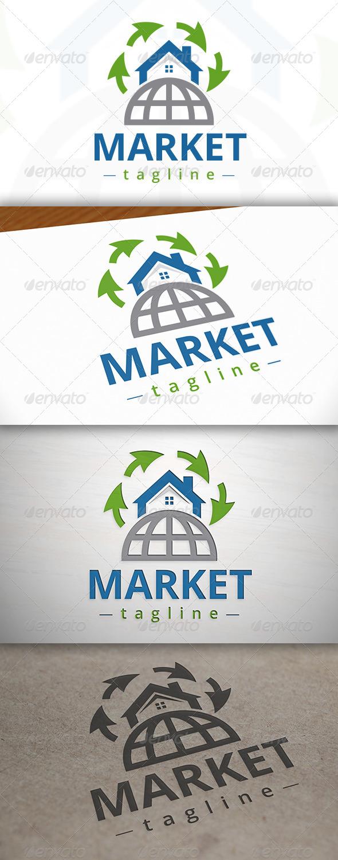 GraphicRiver Marketing Real Estate Logo 7163115