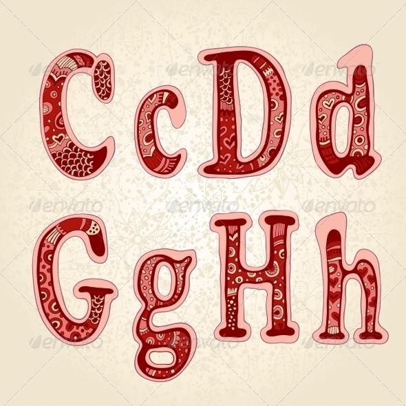 GraphicRiver Ornamental Letters 7163135