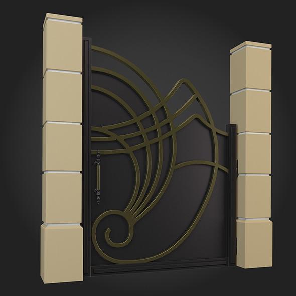 Gate 023 - 3DOcean Item for Sale
