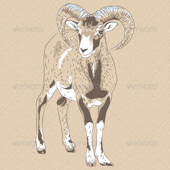 GraphicRiver Alpine Ibex 7163490