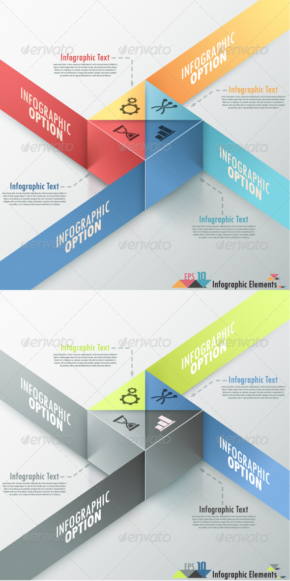 GraphicRiver Modern Infographic Options Banner 2 Versions 7153177