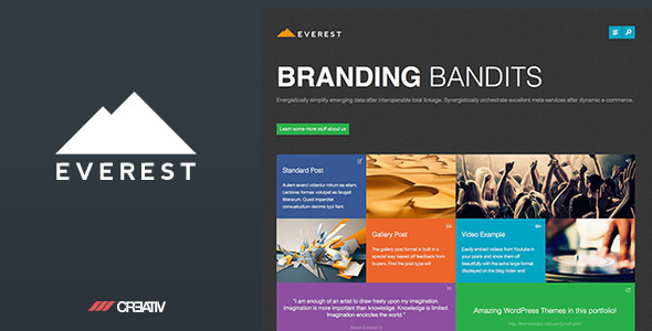 Everest - Premium WordPress Theme