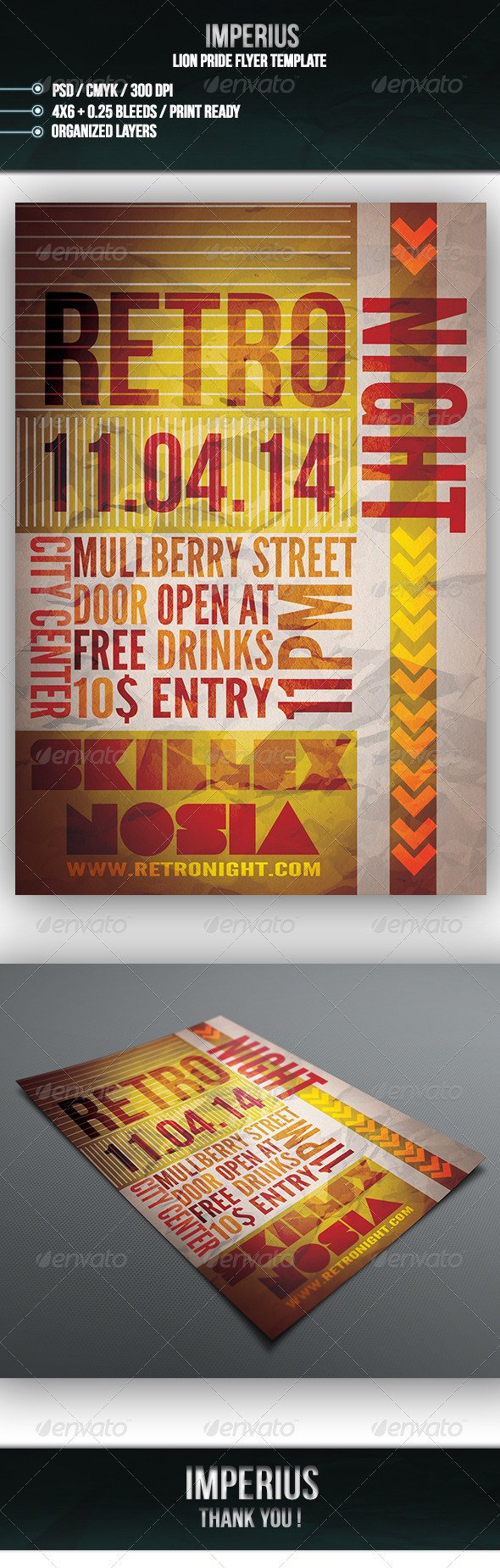 GraphicRiver Retro Night V3 7163585