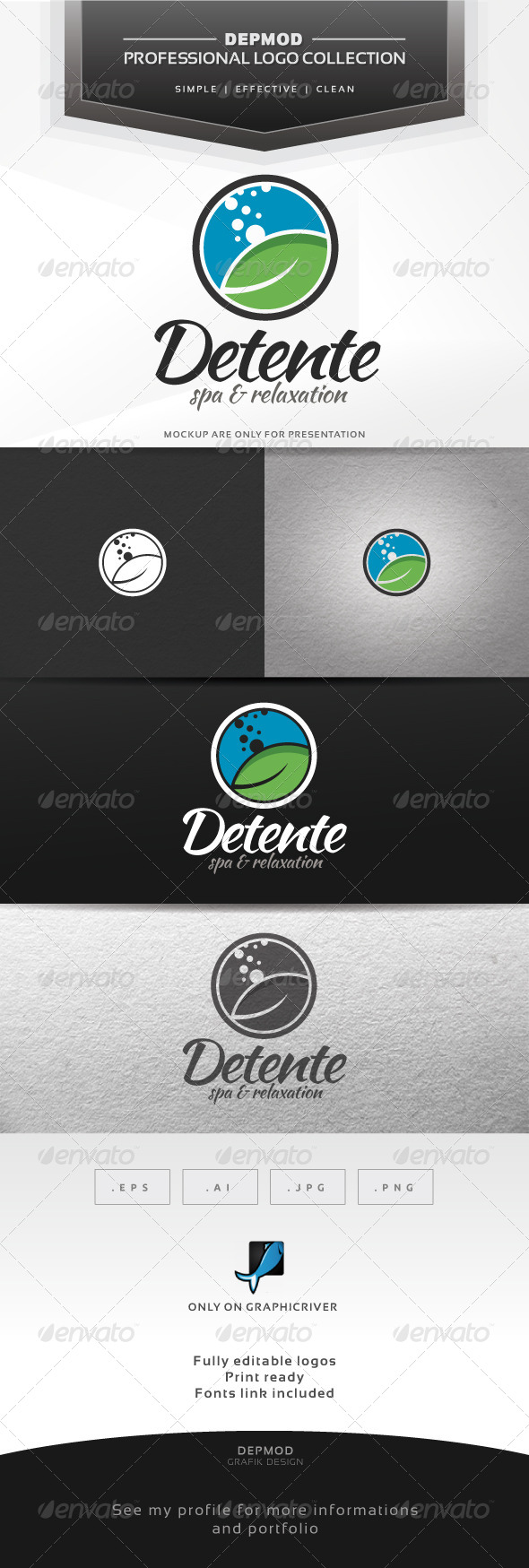GraphicRiver Detente Logo 7163619