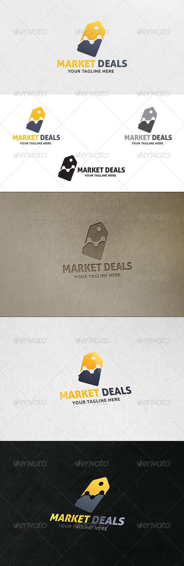 GraphicRiver Market Deals Logo Template 7163634