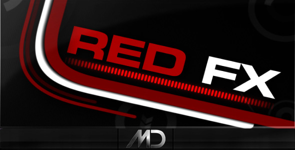 After Effects Project - VideoHive Red FX v.2 161138