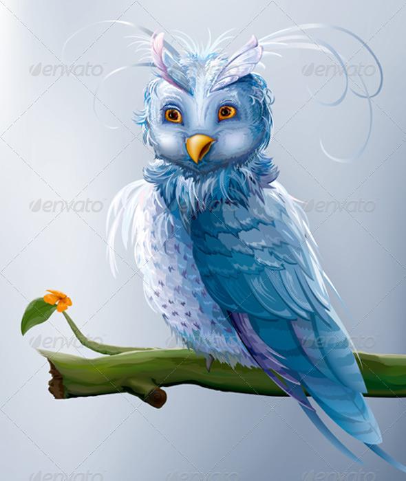 GraphicRiver Cartoon Owl 7164120