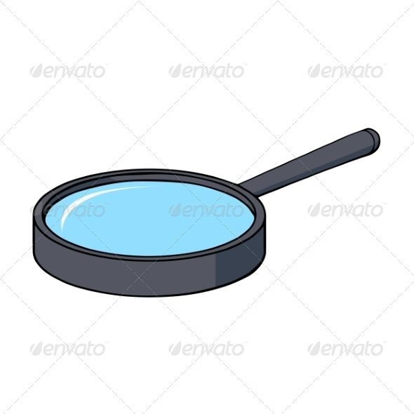 GraphicRiver Cartoon Magnifying Glass 7164387
