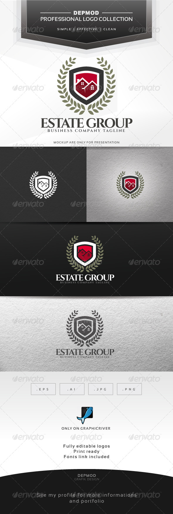 GraphicRiver Estate Group Logo 7164709