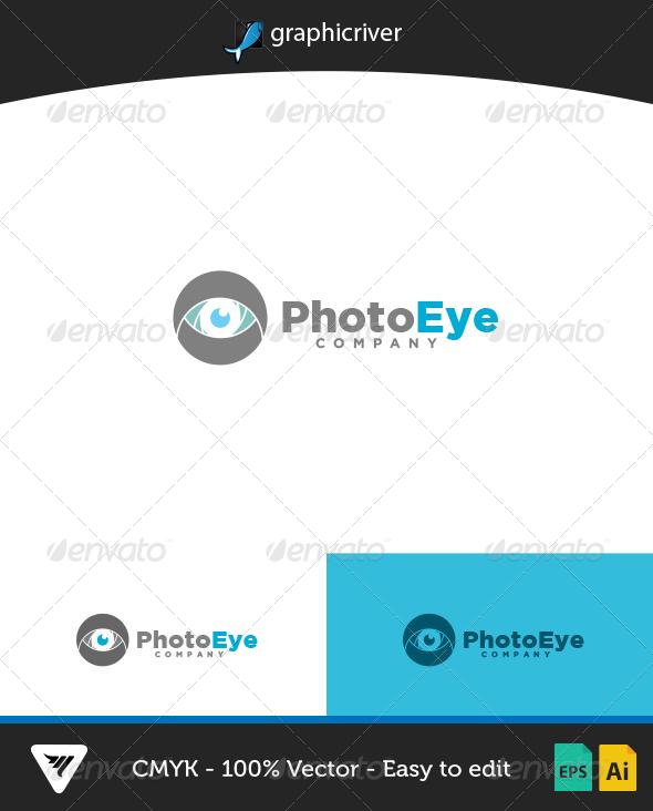 GraphicRiver PhotoEye Logo 7165086