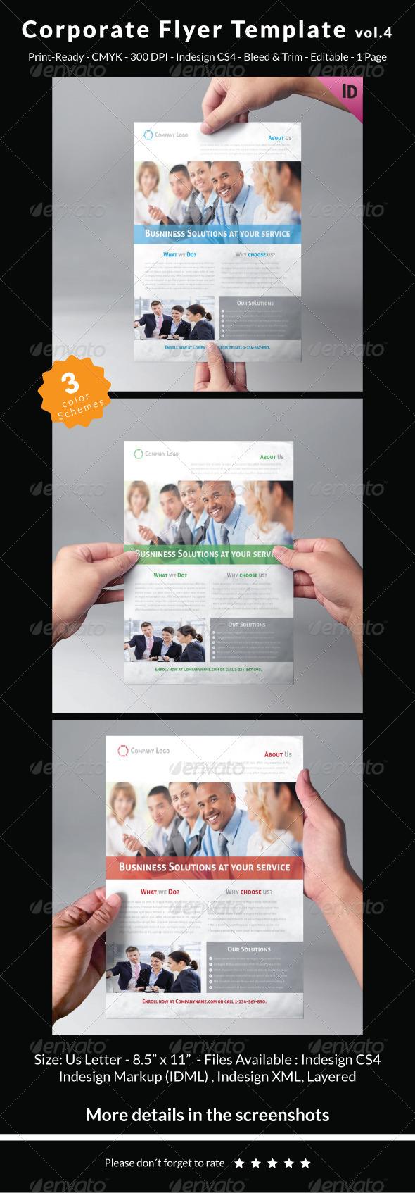 GraphicRiver Corporate Flyer Template Vol.4 7165609