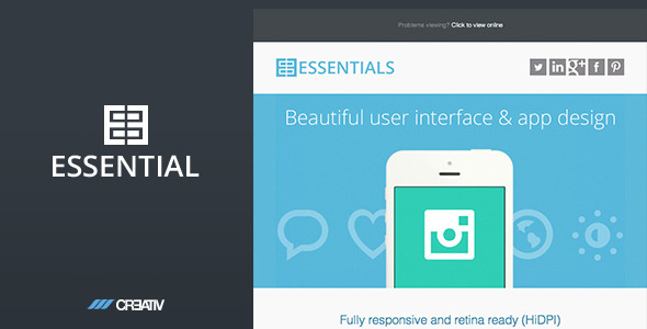Business Essentials HTML Email
