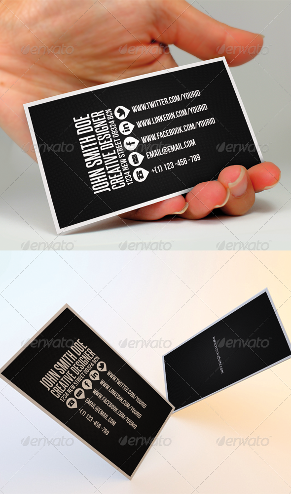 Clean Business Card II - Creative Business Cards