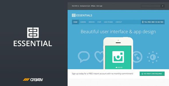 Business Essentials HTML