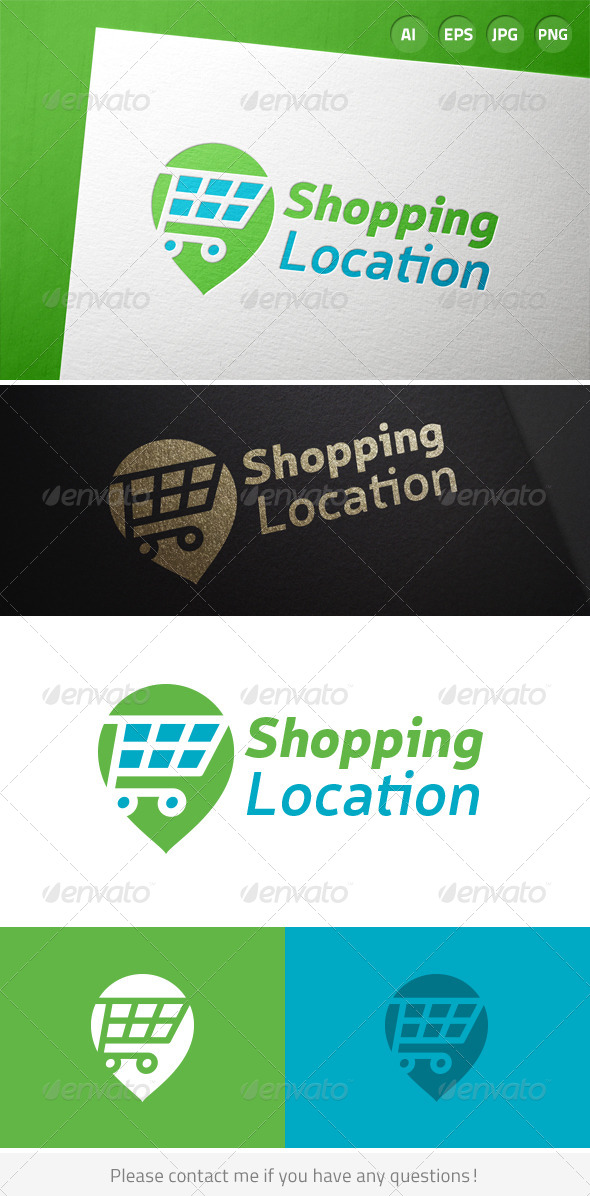GraphicRiver Shopping Location Logo 7166226