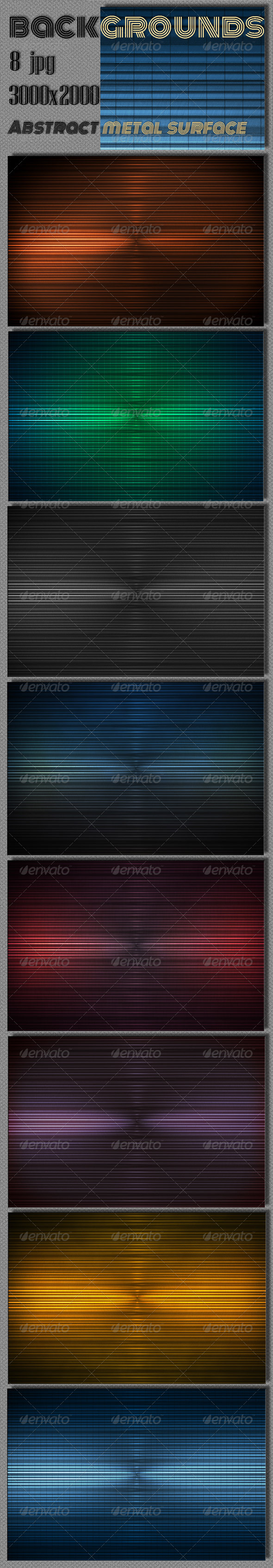 GraphicRiver Metal Strips Surface 7166865