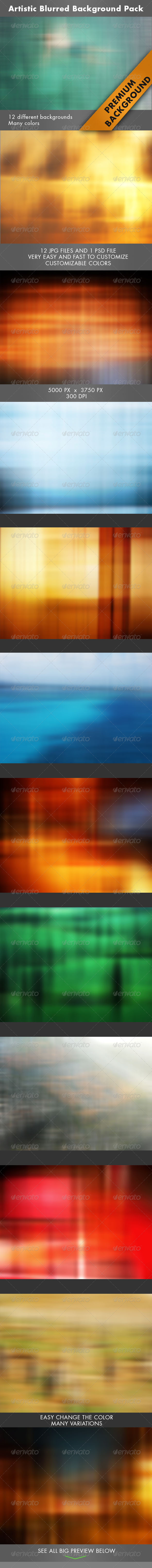 GraphicRiver Artistic Blurred Background 7167092