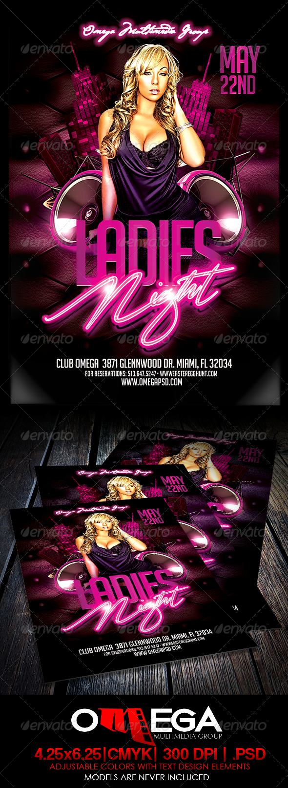 GraphicRiver Ladies Night 7167342