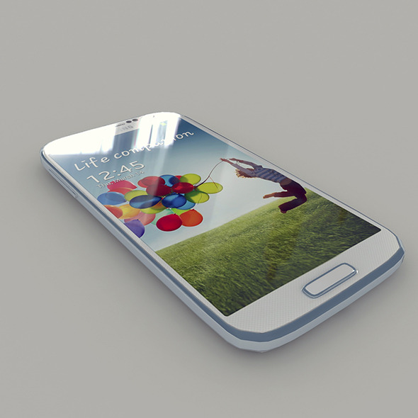 3DOcean Samsung I9506 Galaxy S4 White Color 7167375