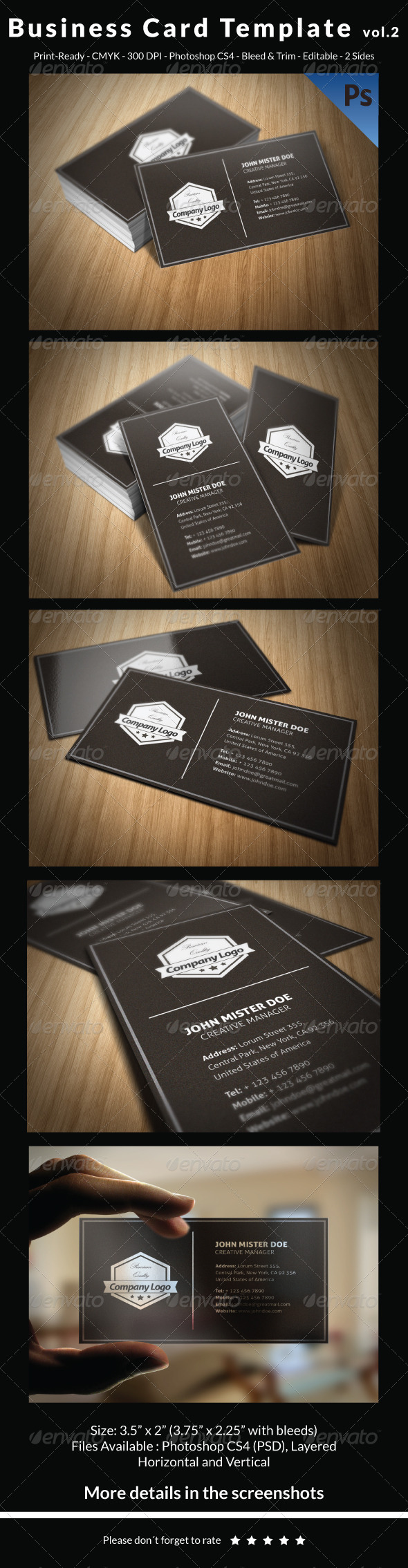 GraphicRiver Business Card Template vol.2 7167474