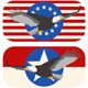 American Bald Eagle Flags - GraphicRiver Item for Sale