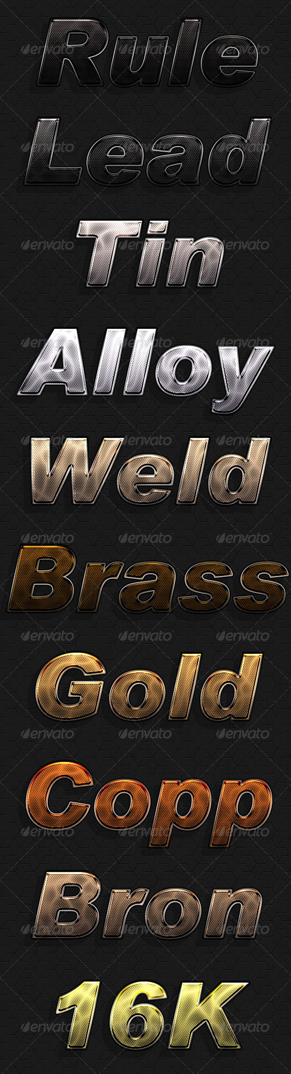 GraphicRiver Metal Head 7169067