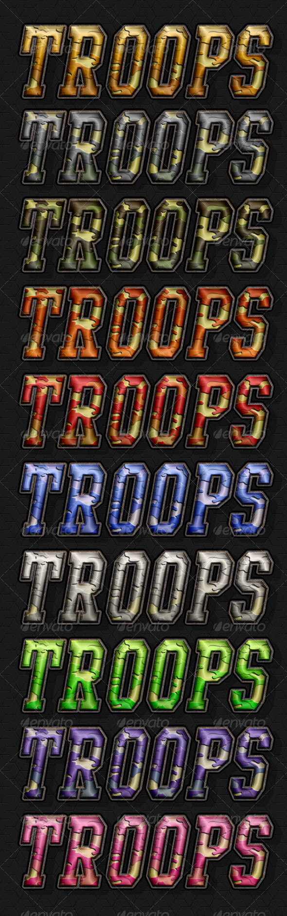GraphicRiver Troops Style 7169091