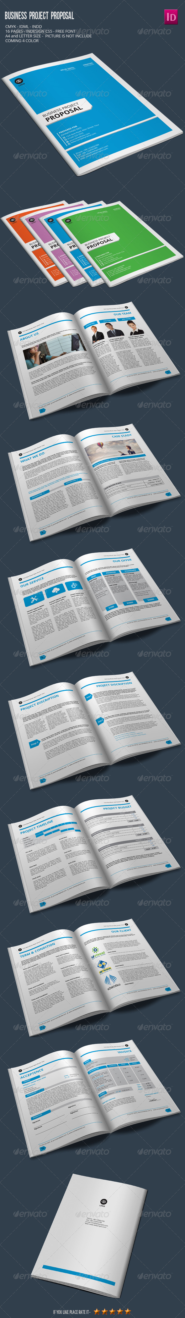 GraphicRiver Business Project Proposal 7169202