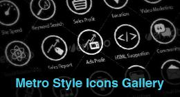 * Metro Style Icons Gallery