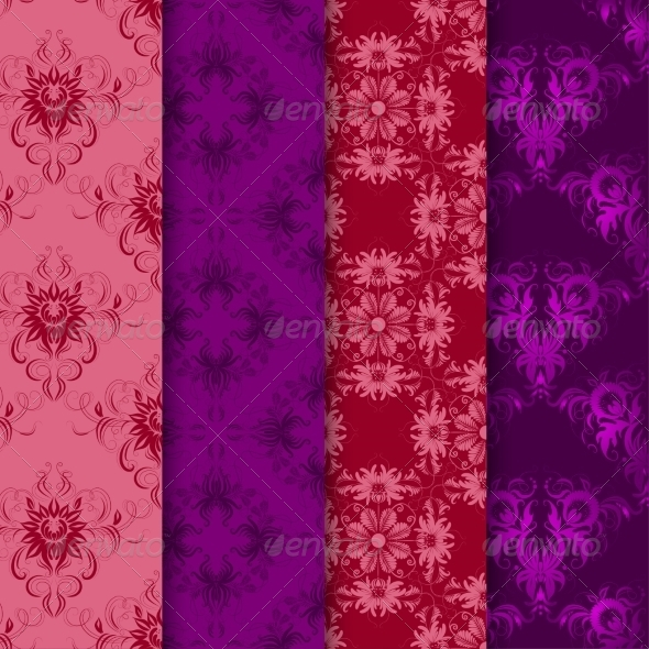 GraphicRiver Set of Seamless Damask Ornaments 7169997