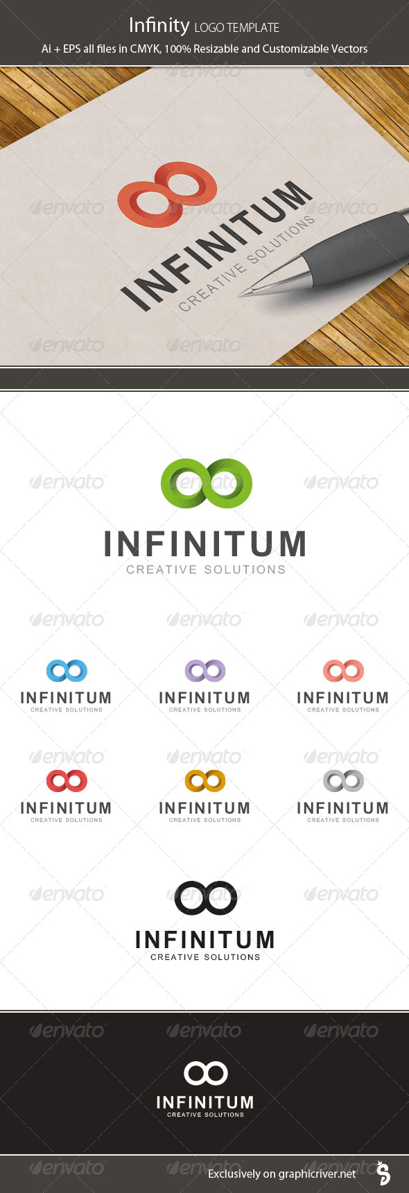 GraphicRiver Infinity Logo Template 7170686
