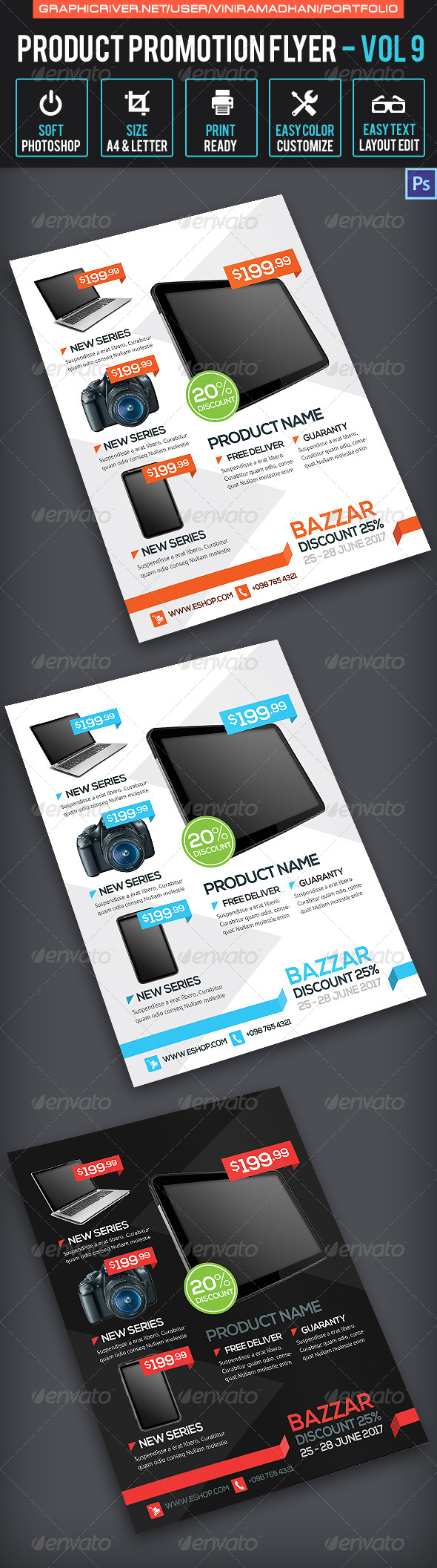 GraphicRiver Product Promotion Flyer Volume 9 7171312