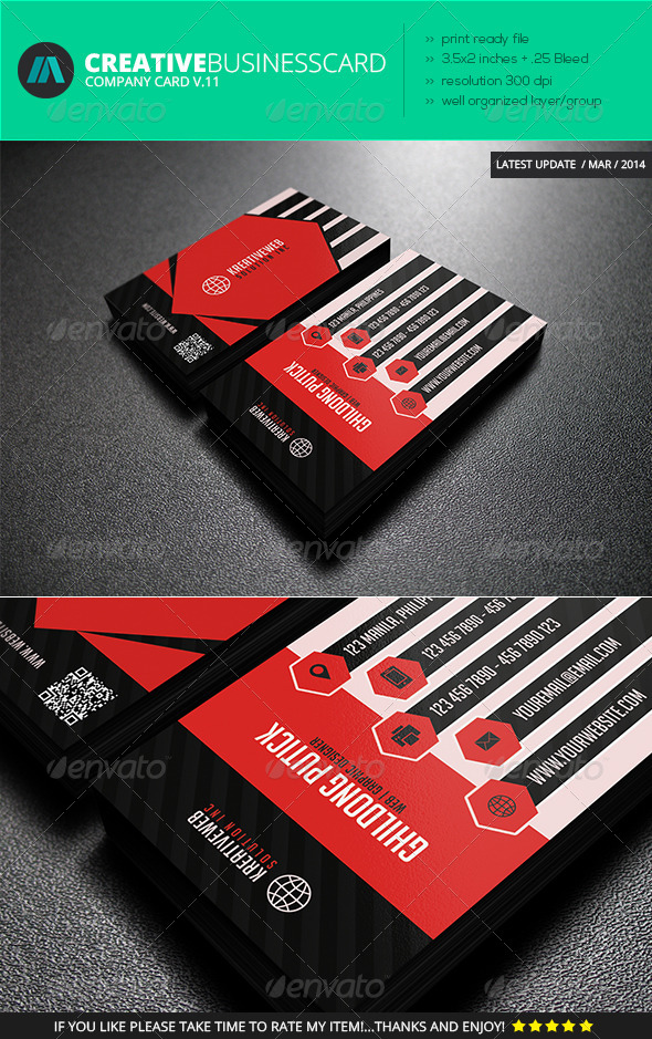 Business Card Vol. 11 - Business Cards Print Templates