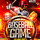 Baseball Flyer Template PSD - GraphicRiver Item for Sale