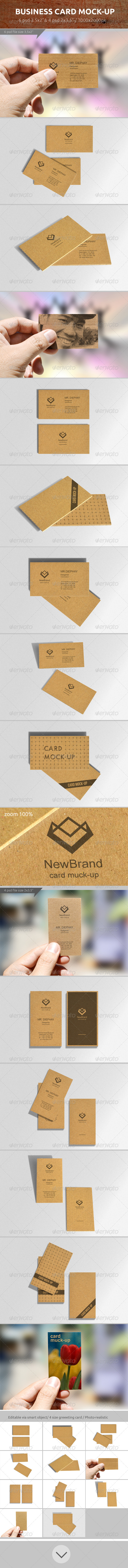 GraphicRiver Business Card Mock-up 7173474