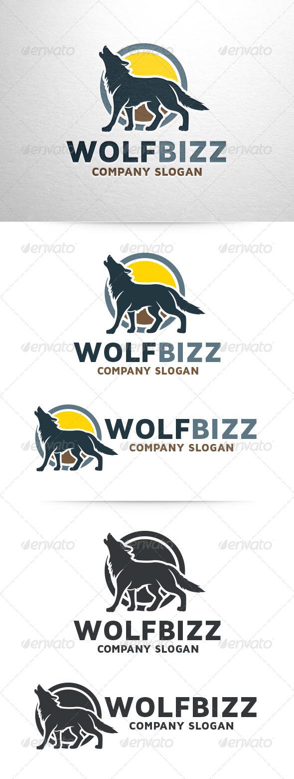 GraphicRiver Wolf Bizz Logo Template 7173945