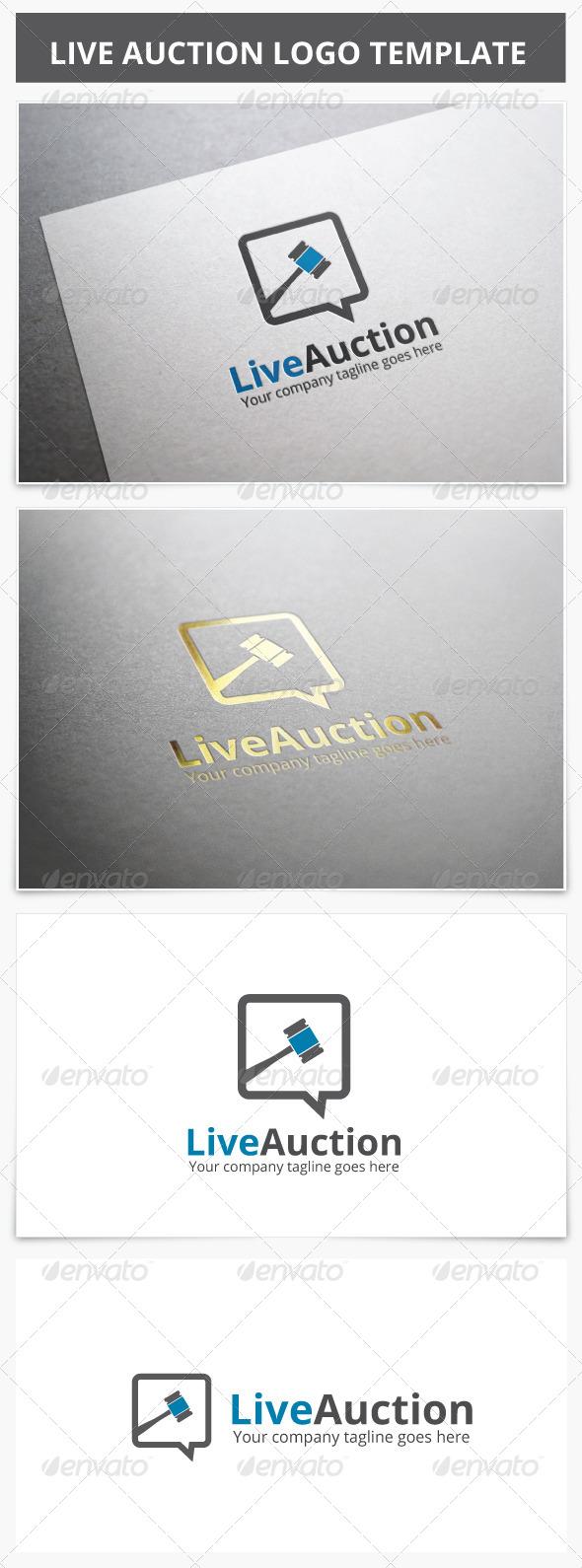 GraphicRiver Live Auction Logo 7174010