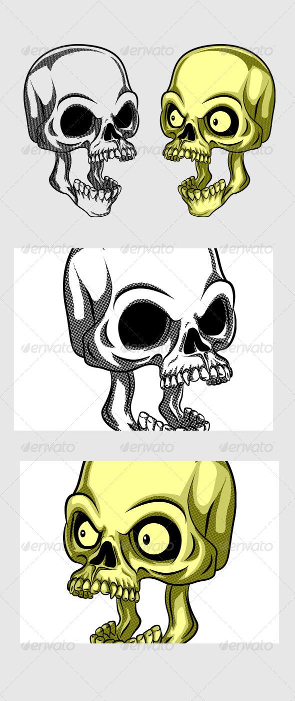 Shocking Skull
