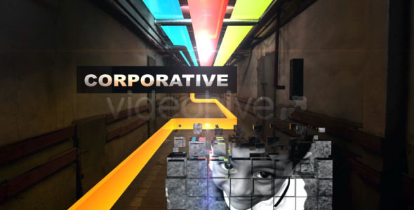 After Effects Project - VideoHive Colorful Corridor Opener 752442