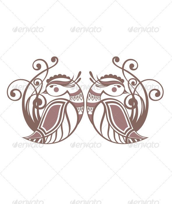 GraphicRiver Decorative Birds 7176839