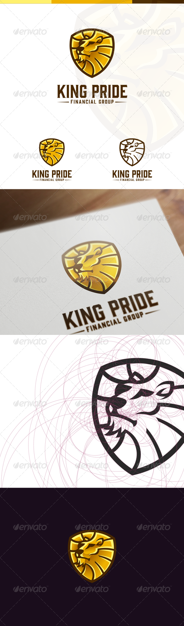 Lion Head Logo - Crests Logo Templates