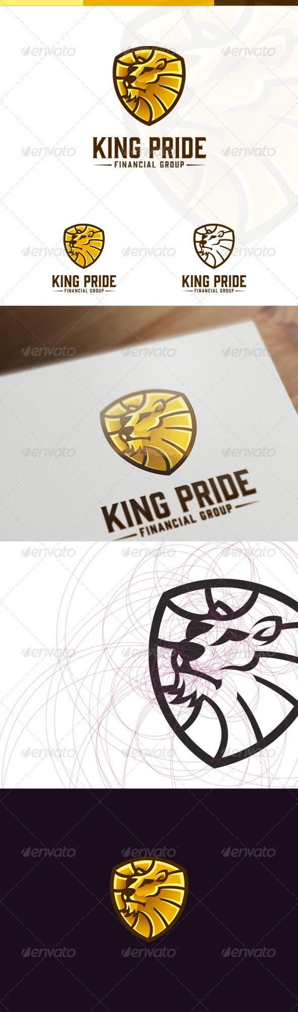 GraphicRiver Lion Head Logo 7176895